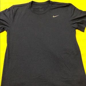 Blue/Navy Nike Dri-Fit Workout T-Shirt